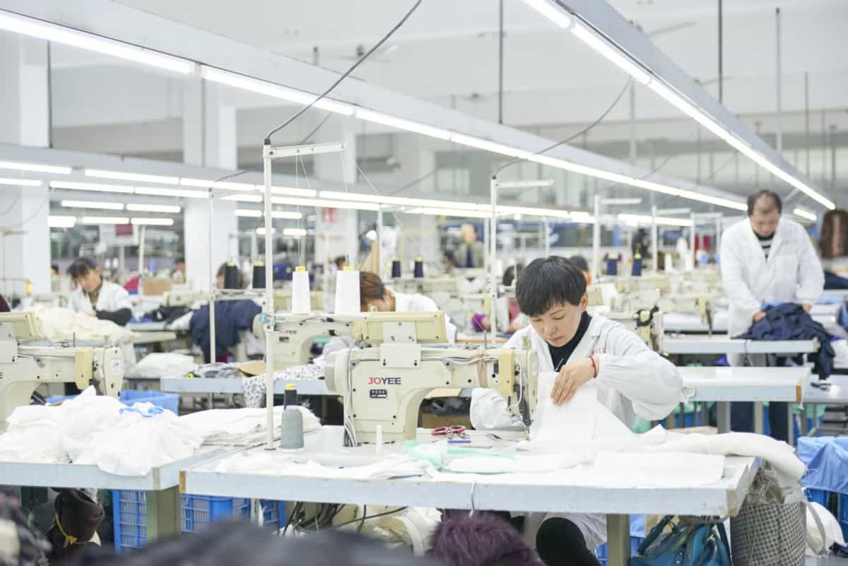 clothing manufacturers for startups garment production factory